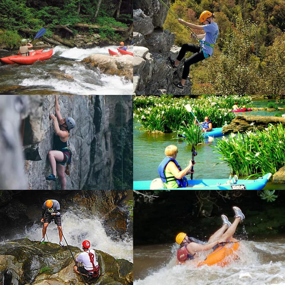 water sports collage 2